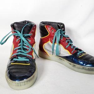 Balenciaga Sneakers Multi Color Topstitch